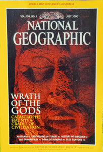 National Geographic July 2000