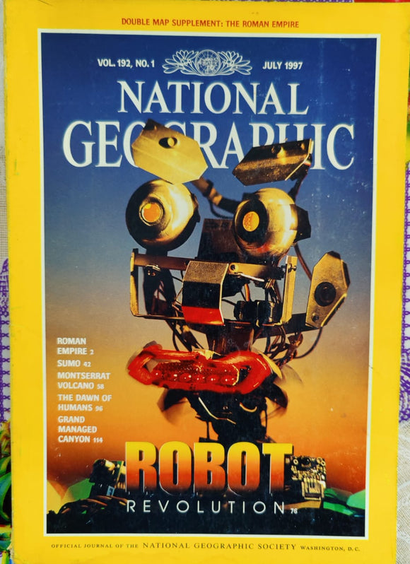 National Geographic July 1997