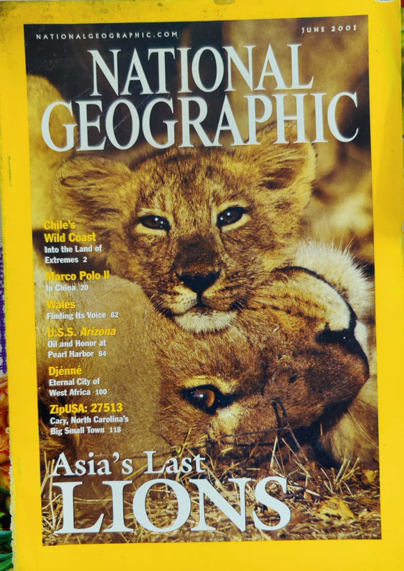 National Geographic June 2001