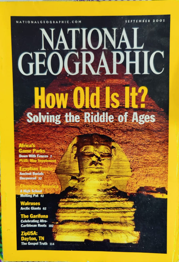 National Geographic September 2001