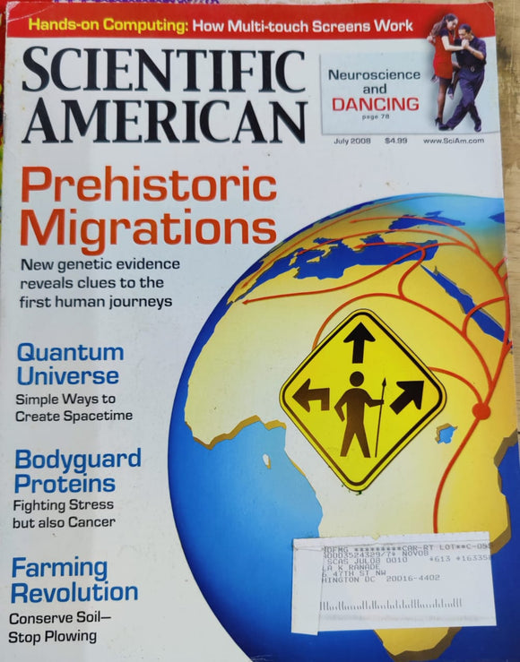 Scientific American July 2008