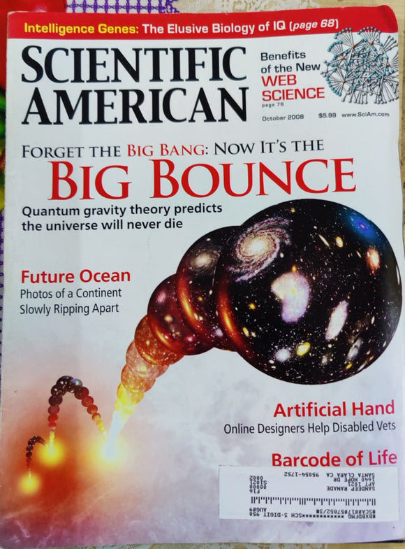 Scientific American October 2008
