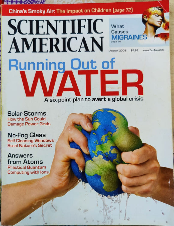 Scientific American August 2008