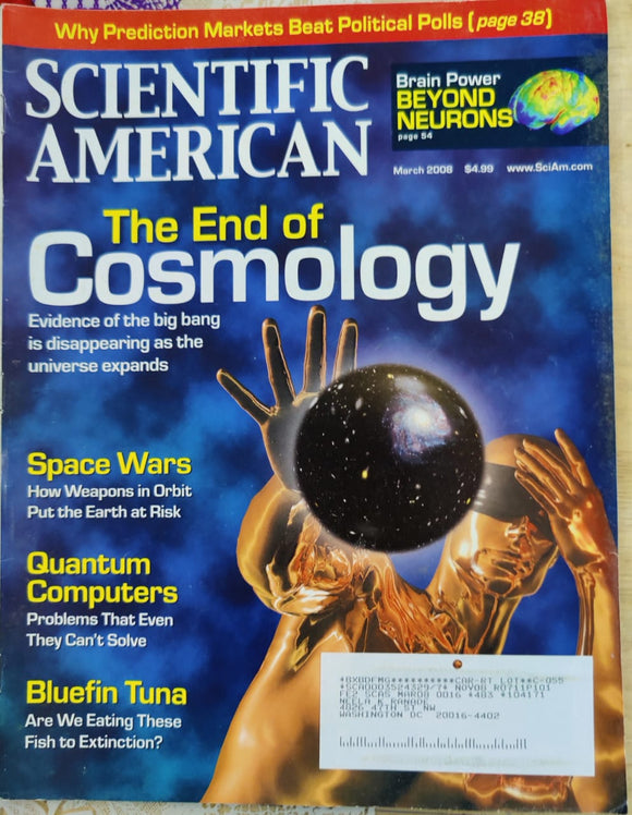 Scientific American March 2008