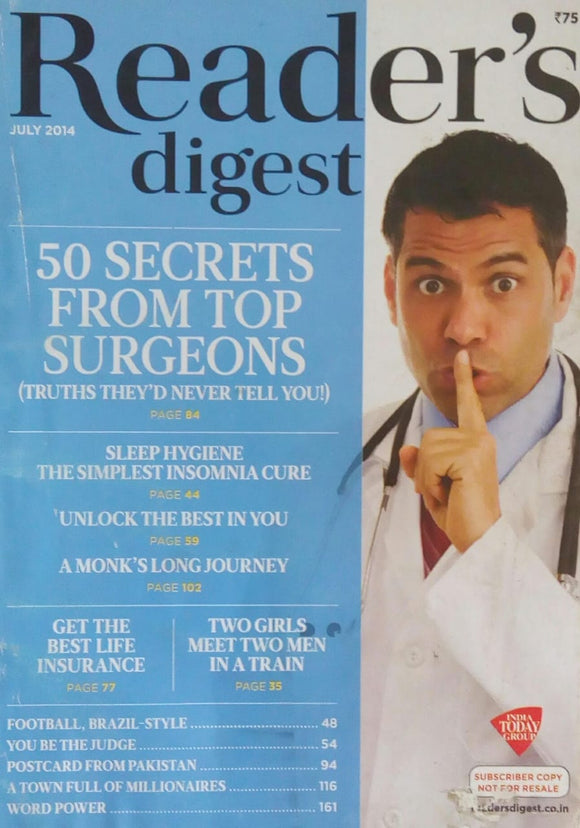 Reader's Digest July 2014