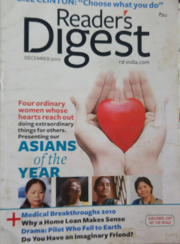 Reader's Digest Dec 2010