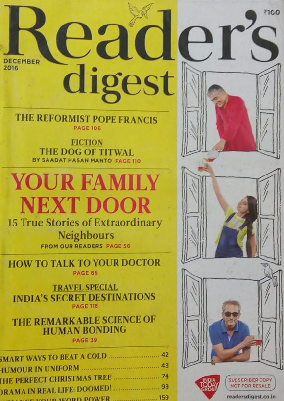 Reader's Digest Dec 2016