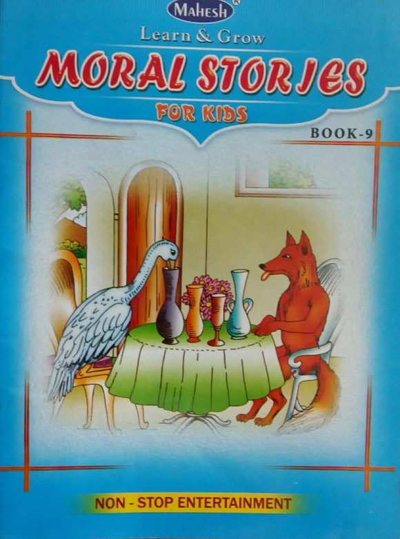 Learn And Grow Moral Stories For Kids Book-9
