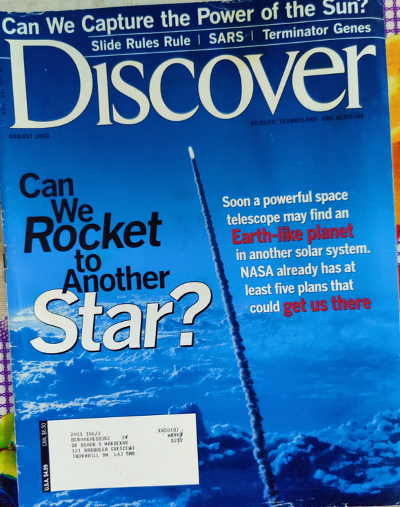 Discover August 2003