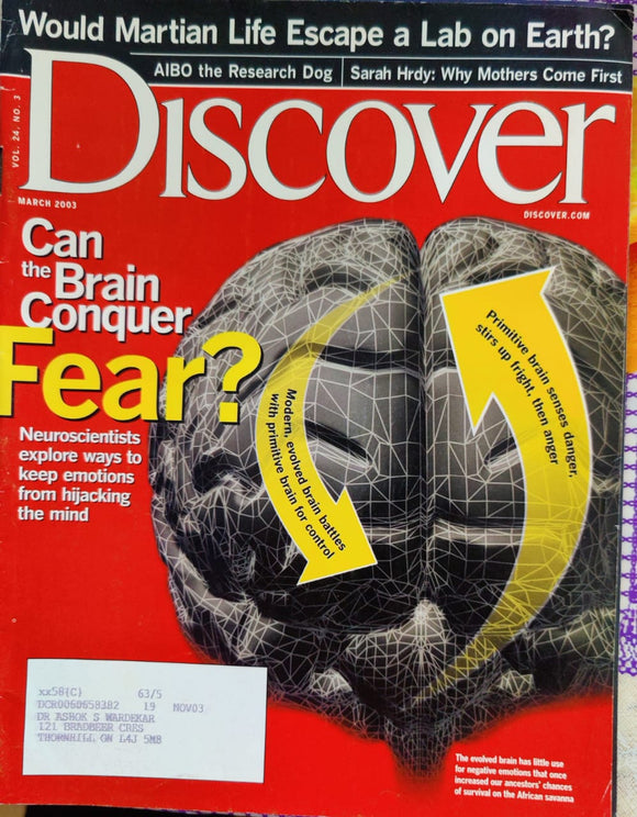 Discover March 2003