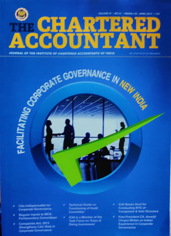 The Chartered Accountant April 2019