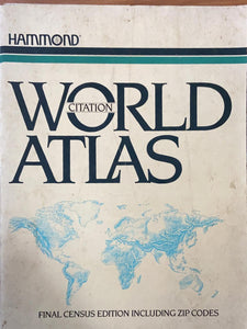 Hammond World Atlas