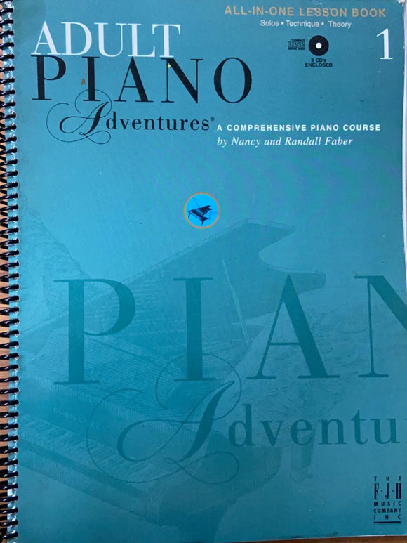 Adult Piano Adventures by NAncy and Randall FAber