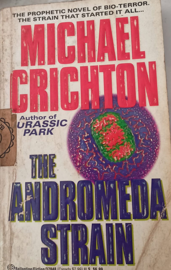 Michael Crichton By Author Of Jurassic Park