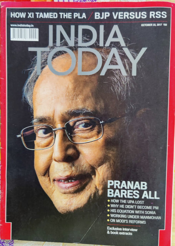 India Today October 2017
