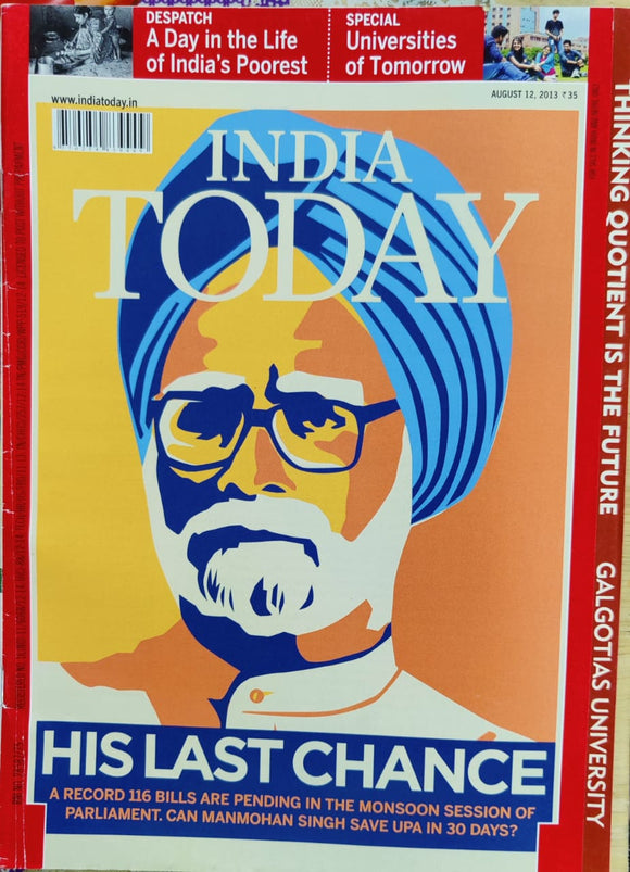 India Today August 2013