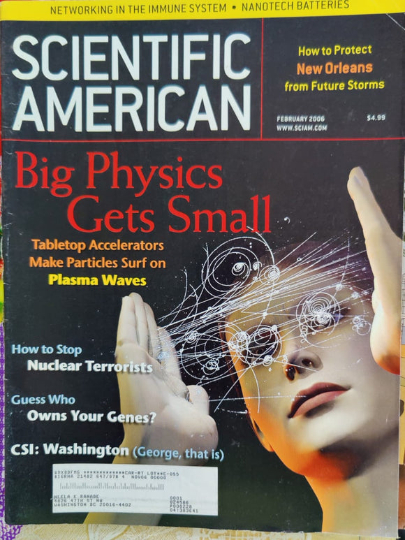 Scientific American February 2006
