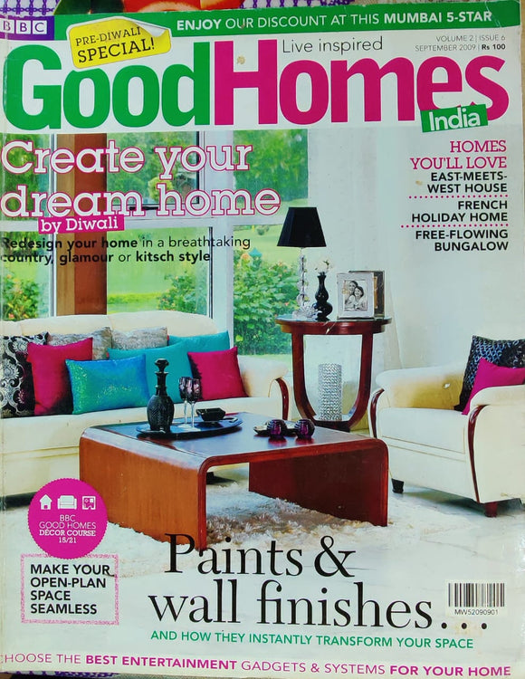 Good Homes September 2009