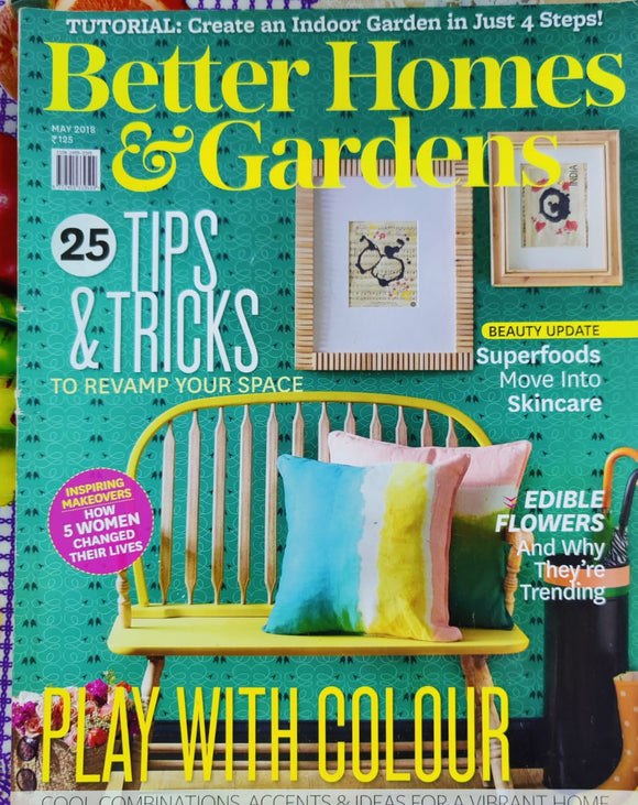 Better Homes & Gardens May 2018