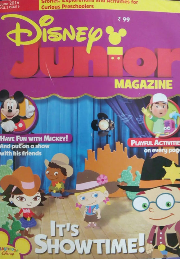 Disney Junior Magazine June 2016  Vol.3  Issue.6
