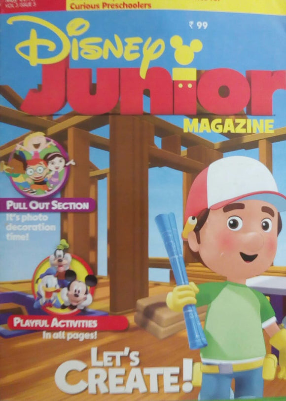 Disney Junior Magazine May  2016  Vol.3  Issue.5