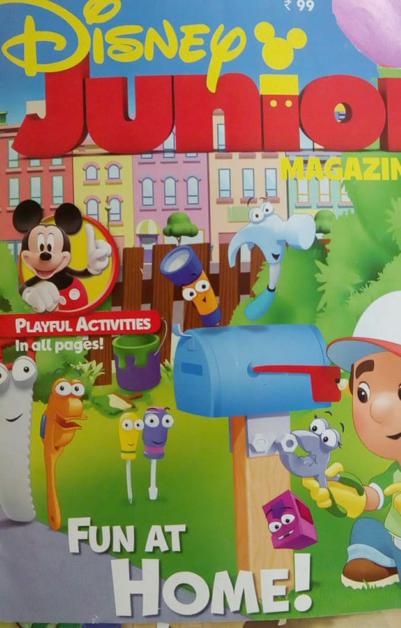 Disney Junior Magazine Jan 2016  Vol.3  Issue.1