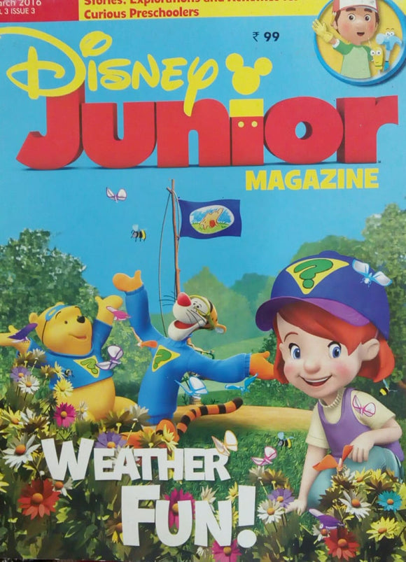 Disney Junior Magazine March 2016  Vol.3  Issue.3
