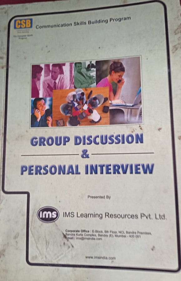 Group Discussion And Personal Interview