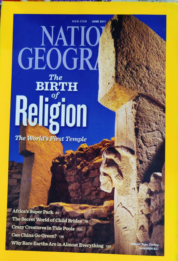 National Geographic June 2011