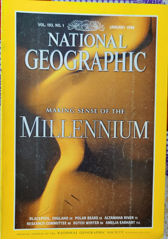 National Geographic January 1998