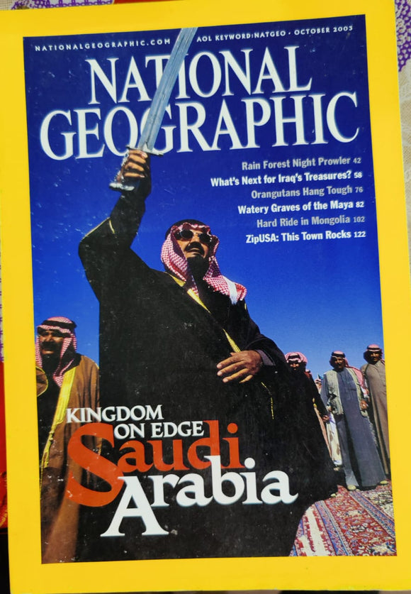National Geographic October 2003
