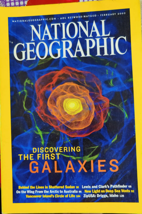 National Geographic February 2003