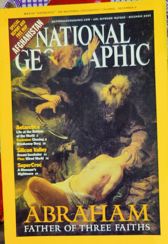 National Geographic December 2001