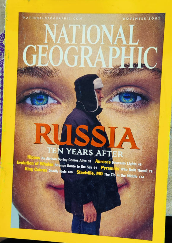 National Geographic November 2001