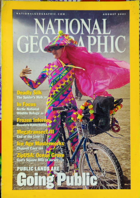 National Geographic August 2001
