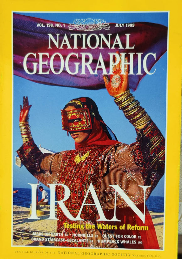National Geographic July 1999