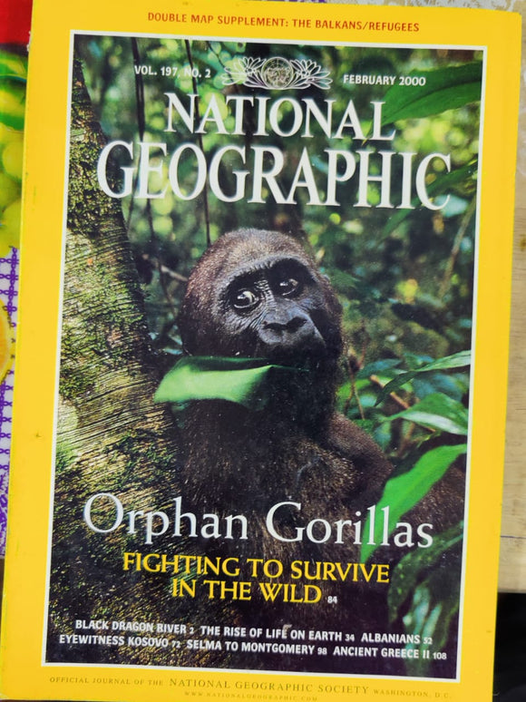 National Geographic February 2000