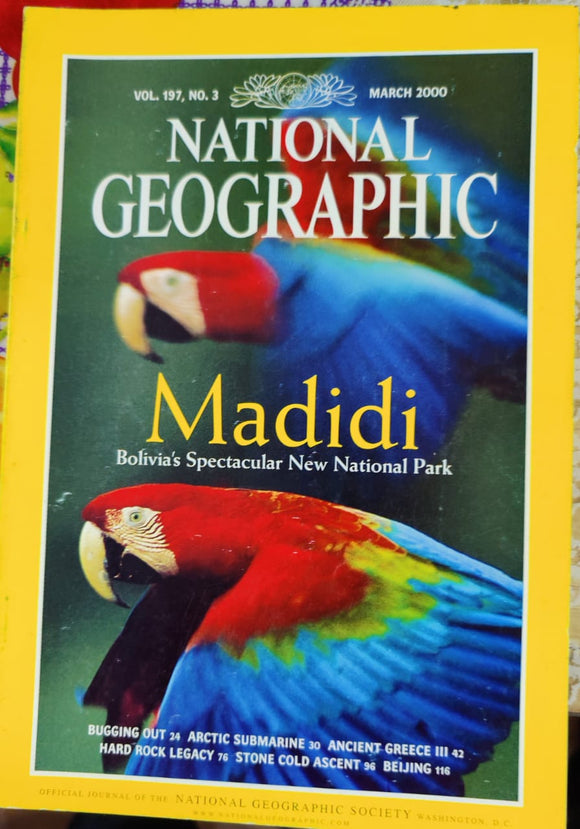 National Geographic March 2000