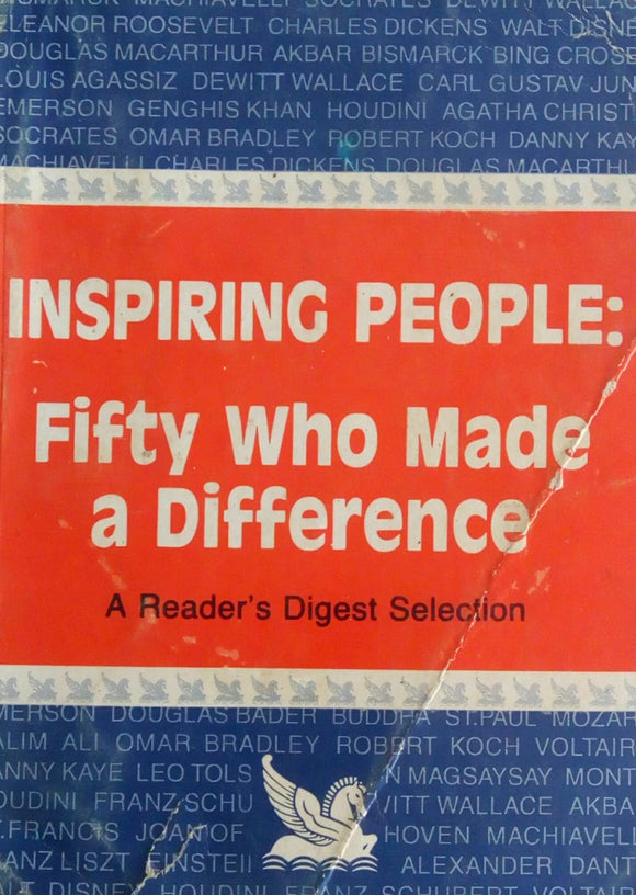 Inspiring People: Fifty Who Made A Difference Reader's Digest