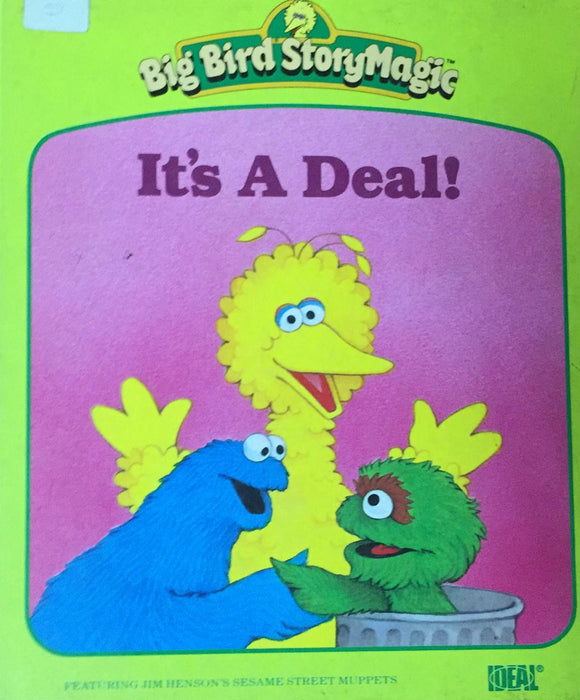Big Bird Story Magic: It's A Deal (Hard Cover)