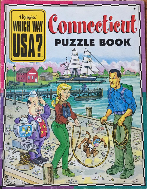 Connecticut Puzzle Book ( Which Way USA?)