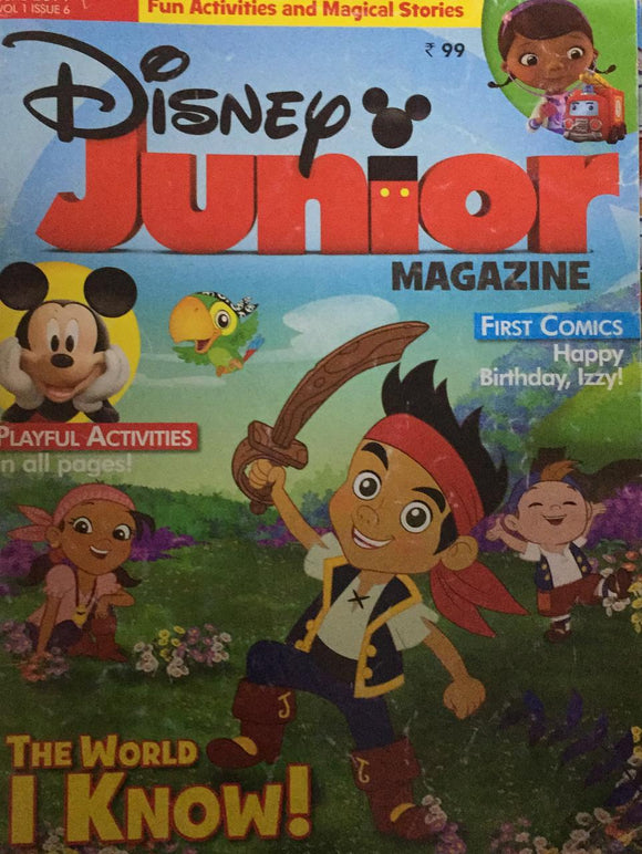 Disney Junior Magazine June 2014 Vol 1 Issue 6