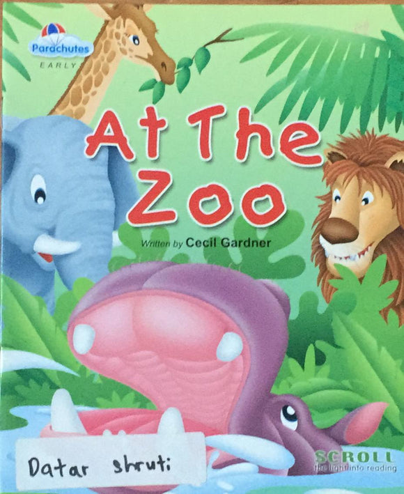 At The Zoo By Cecil Gardner