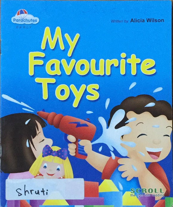 My Favourite Toy By Alicia Wilson