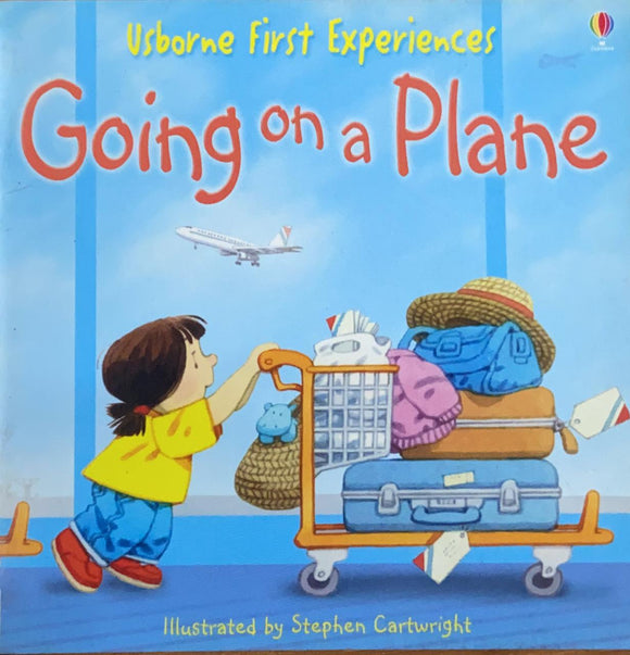 Usborne First Experience Going on Plane