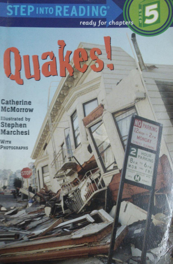 Step Into Reading Quakes