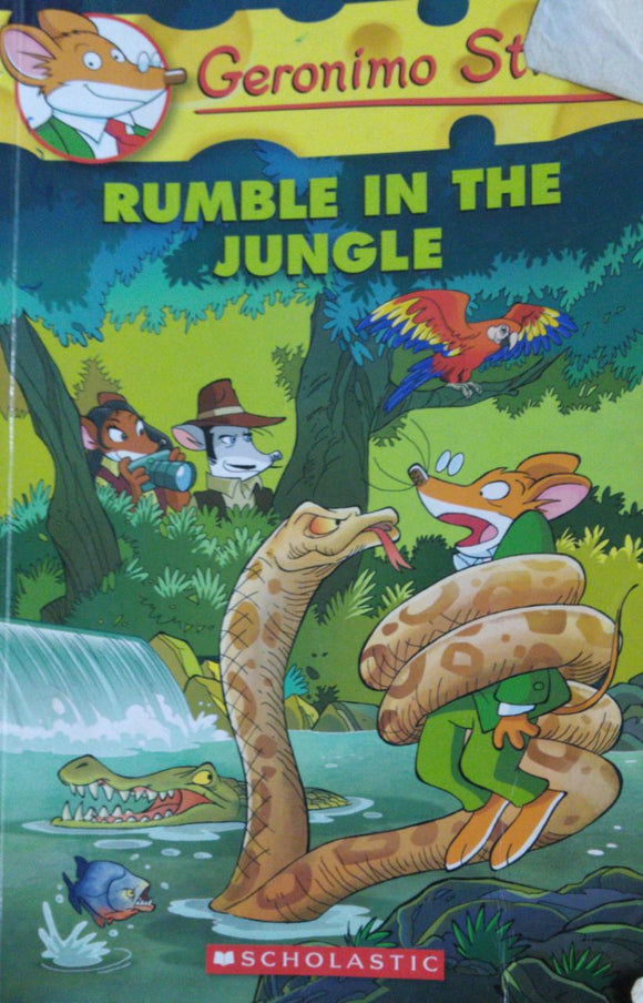 Geronimo Stilton Rumble In The Jungle