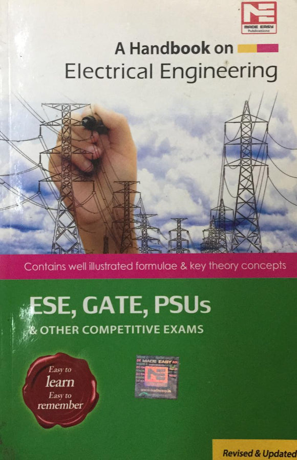 A Handbook On Electrical Engineering ESE GATE PSUs & Other Competitive Exams