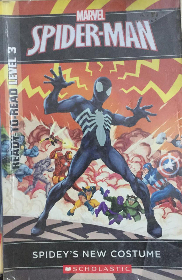 Marvel Spider-Man, Spidey's New Costume (Ready-To-Read Level - 3)