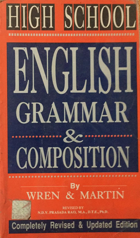 High School English Grammar & Composition, by Wren & Martin